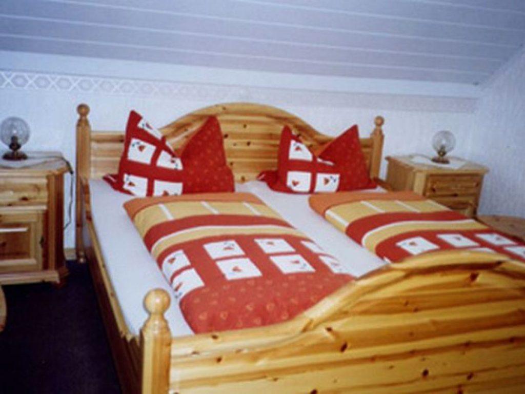 Burgblick-schlafzimmer